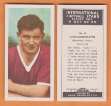 Manchester United Jackie Blanchflower Northern Ireland 14 KIF